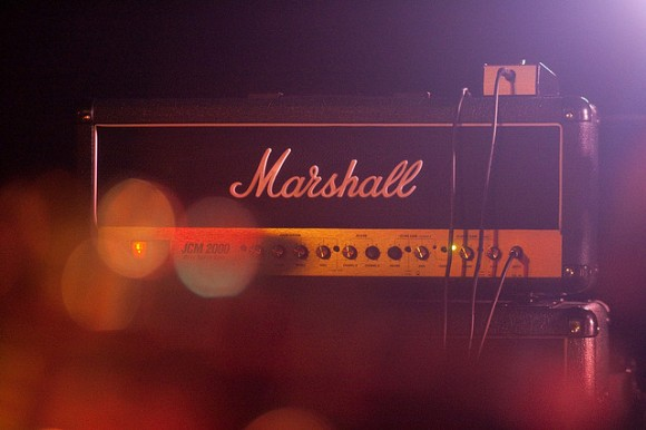 Marshall Amp at Rancho Relaxo